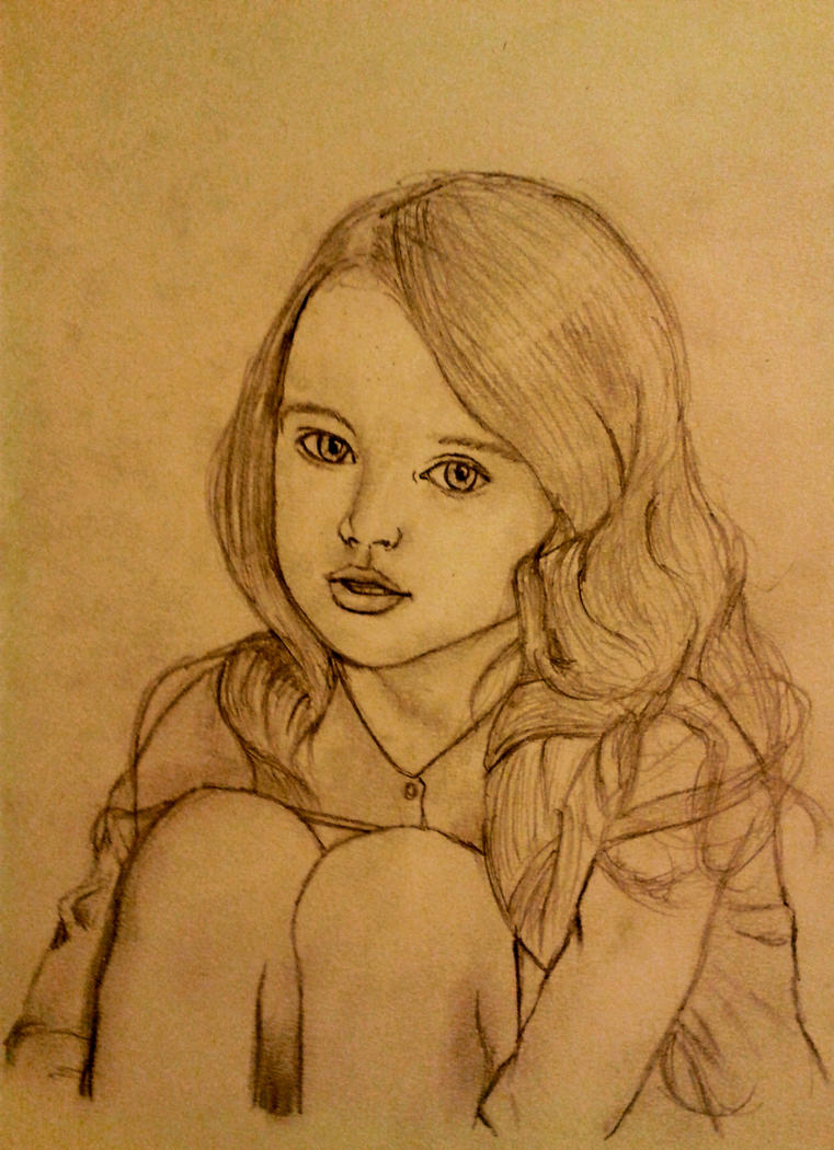 Adorable Little Girl by LelouchArt