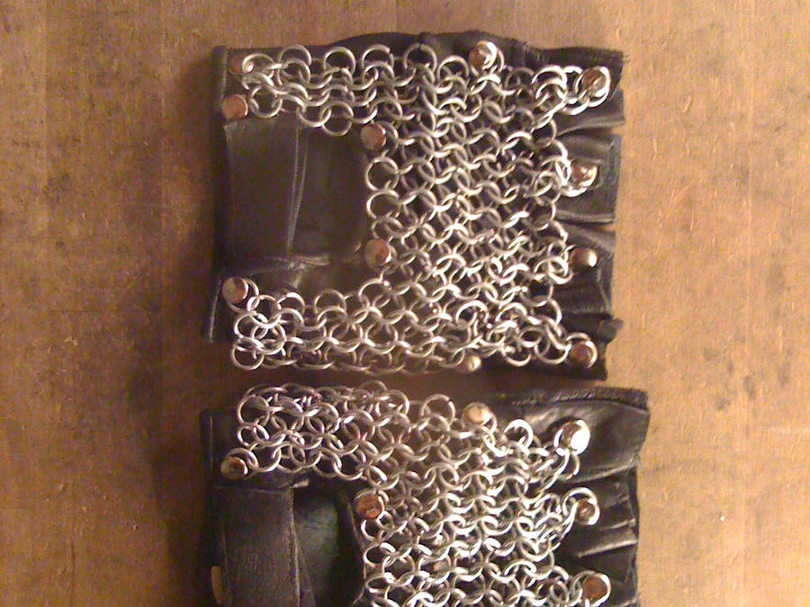 how to make chainmail gloves