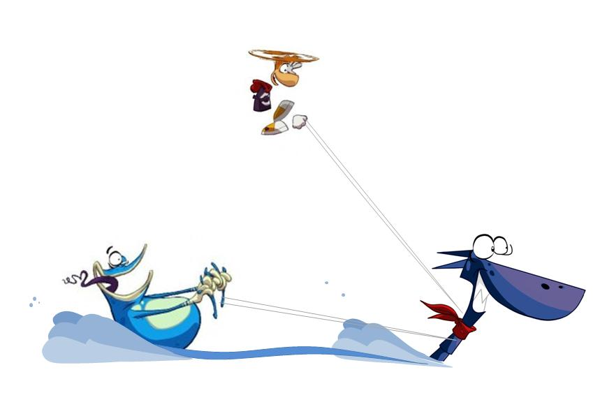 Rayman origins characters