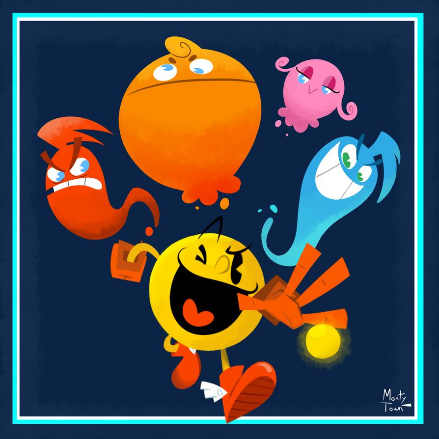 Pac-Man by sergiomonty