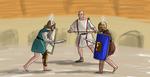 Provocatores Fight by AmonVDB