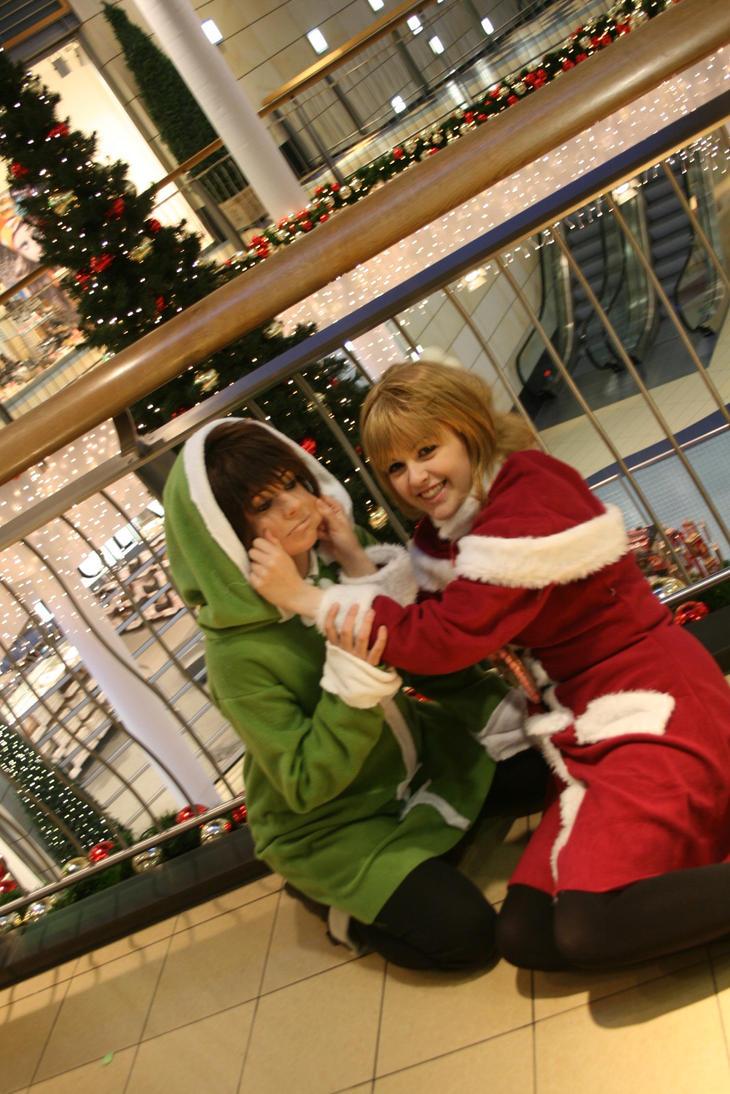 Sakura and Shaolan Christmas by Yuusei90