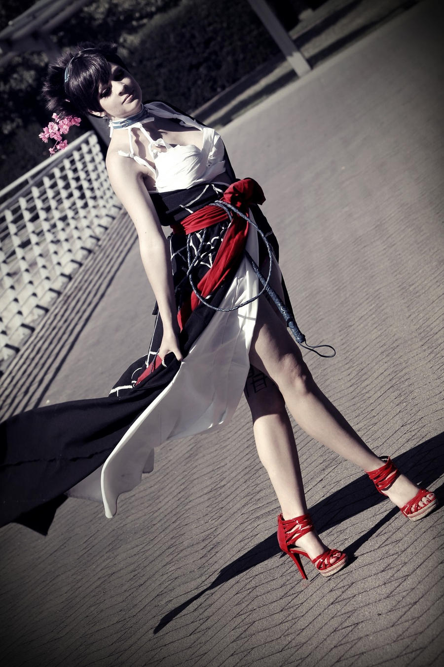 Asuka Kazama - Yakuza / Kimono 3 by Yuusei90