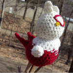 Hand-Crocheted Latias Plushie
