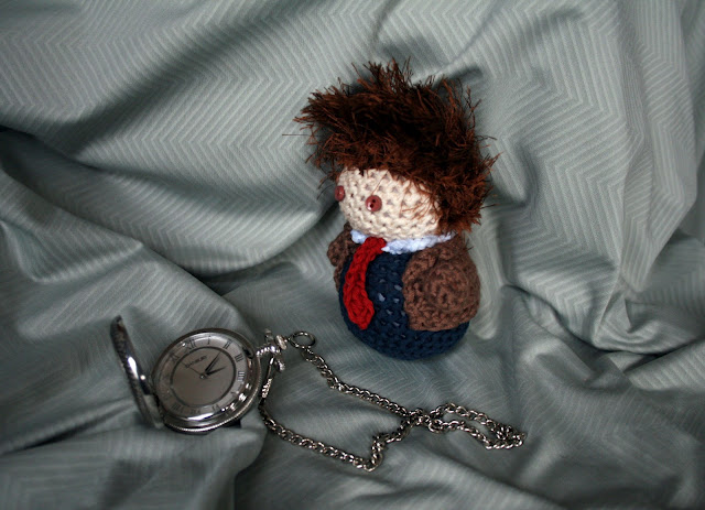 David Tennant - 10th Doctor Plushie by hookedonchibis