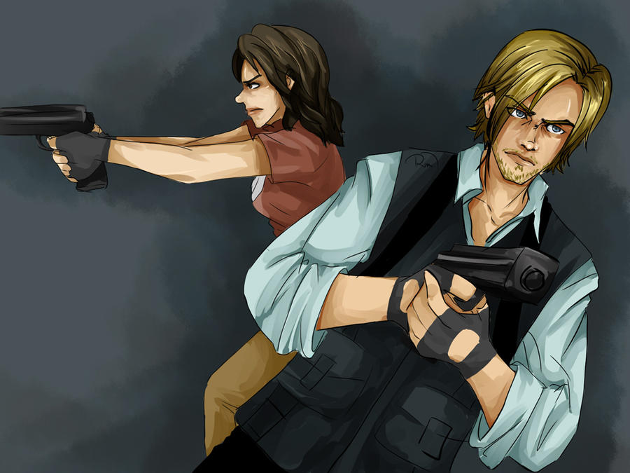 Leon and Helena by Ri-m