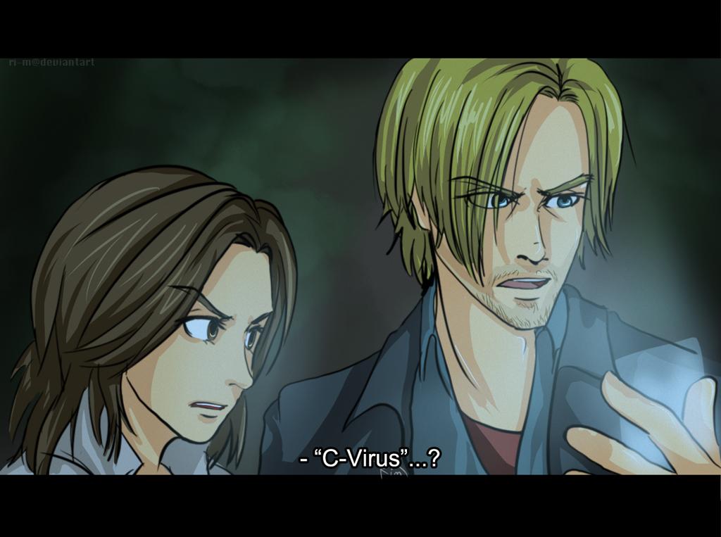 RE6 Anime Screencap by Ri-m