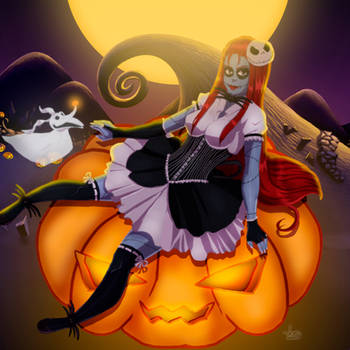 Sally Skellington by JeyraBlue
