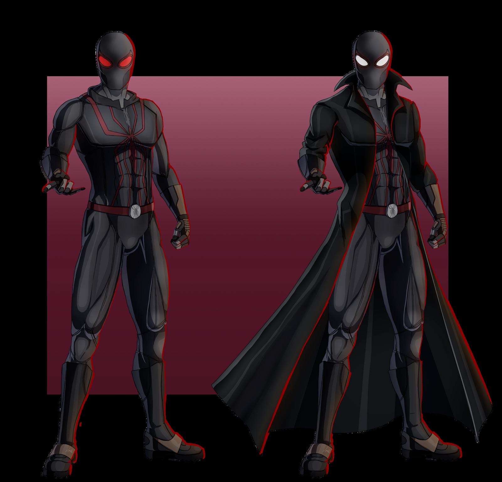 design concept outfit spider noir by jeyrablue on deviantart. Black Bedroom Furniture Sets. Home Design Ideas