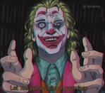 Joker 90s anime style