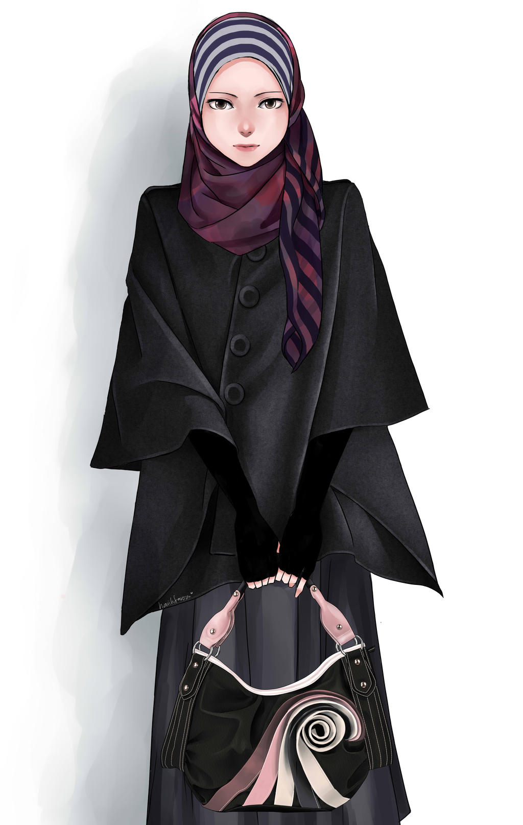 Hijab By Harihtaroon On Deviantart