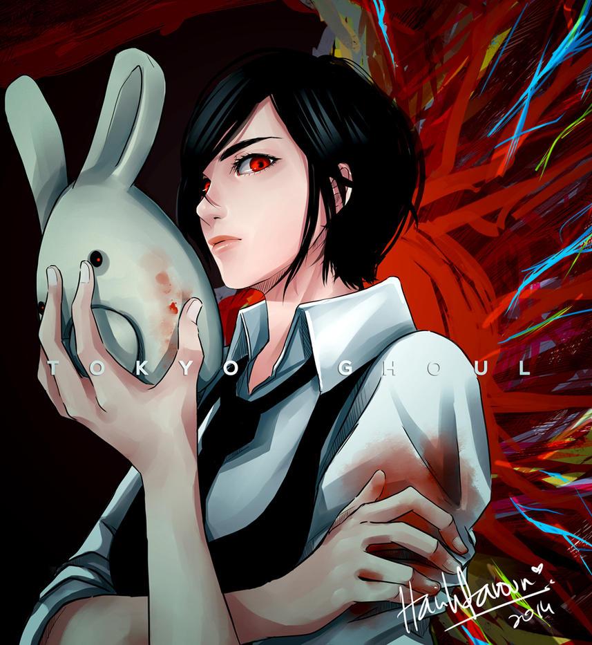 Tokyo Ghoul - Toka Kirishima By Harihtaroon On Deviantart-3473