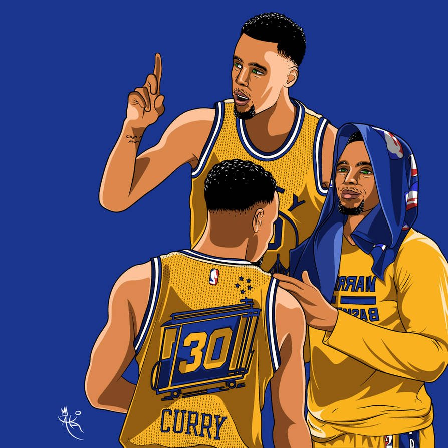 Stephen-Curry-Wallpaper by AkaiTheDesigner ...