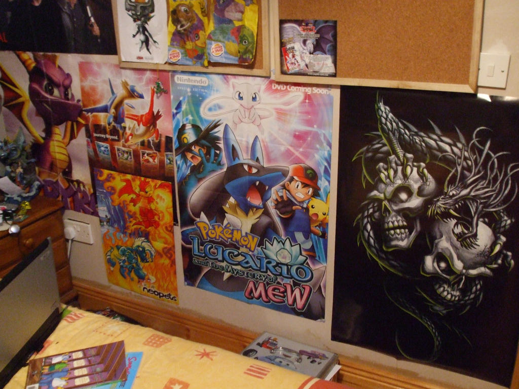 posters in my room by auraguardianhadou on deviantart