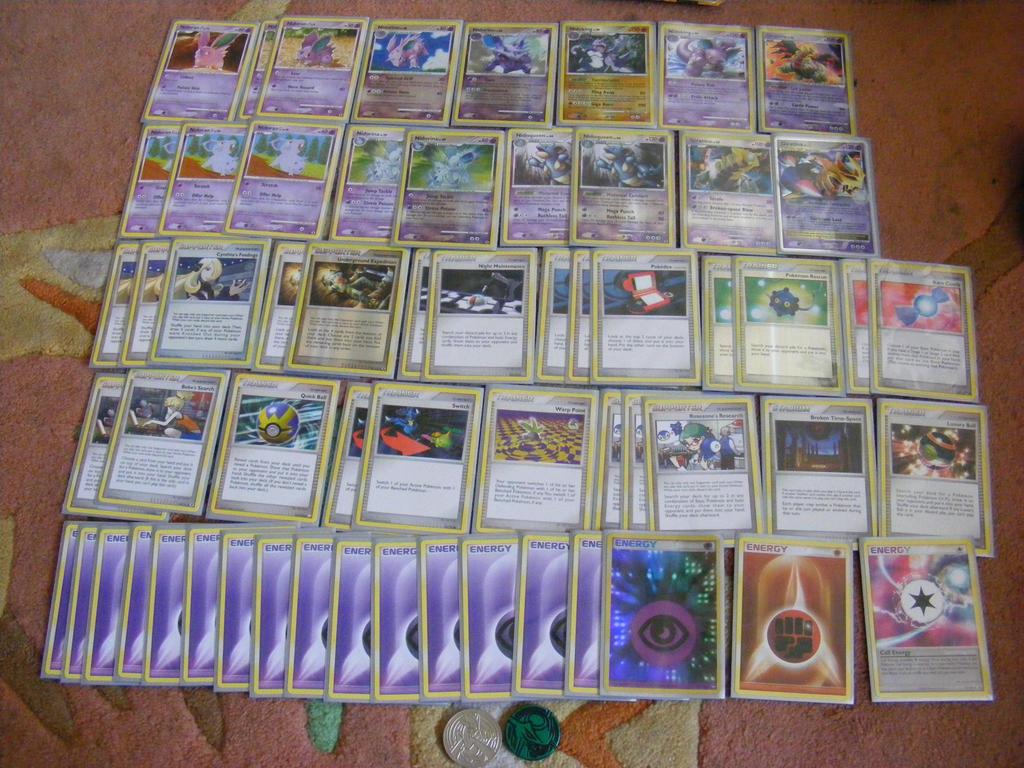 perfect pokemon deck