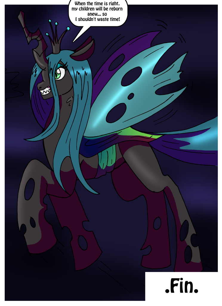 Wings of Change - Chrysalis TF 7/7 by Rexequinox by AuraGuardianHadou