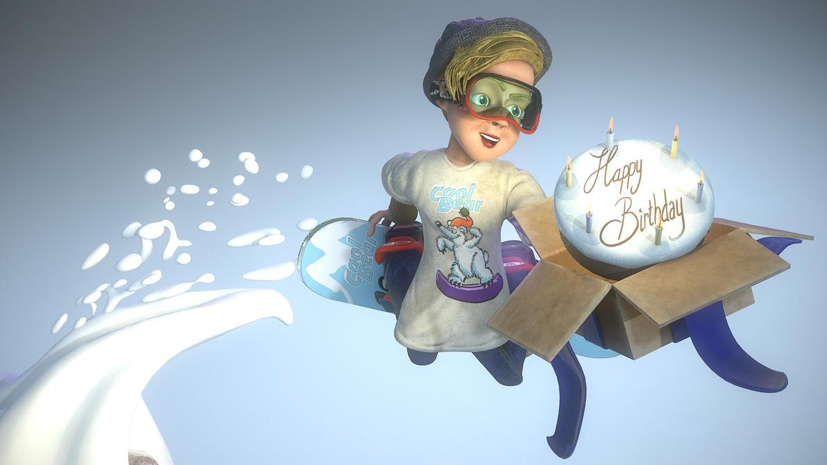 Snowboarder001 by rabaman