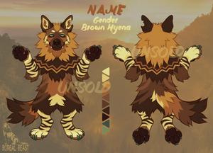 [ADOPT] Brown Hyena OTA - SOLD