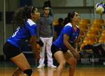 Volleyball players by photo-tlacuilopilo
