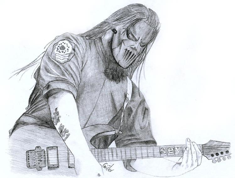 Mick Thompson From Slipknot By Cruit On Deviantart