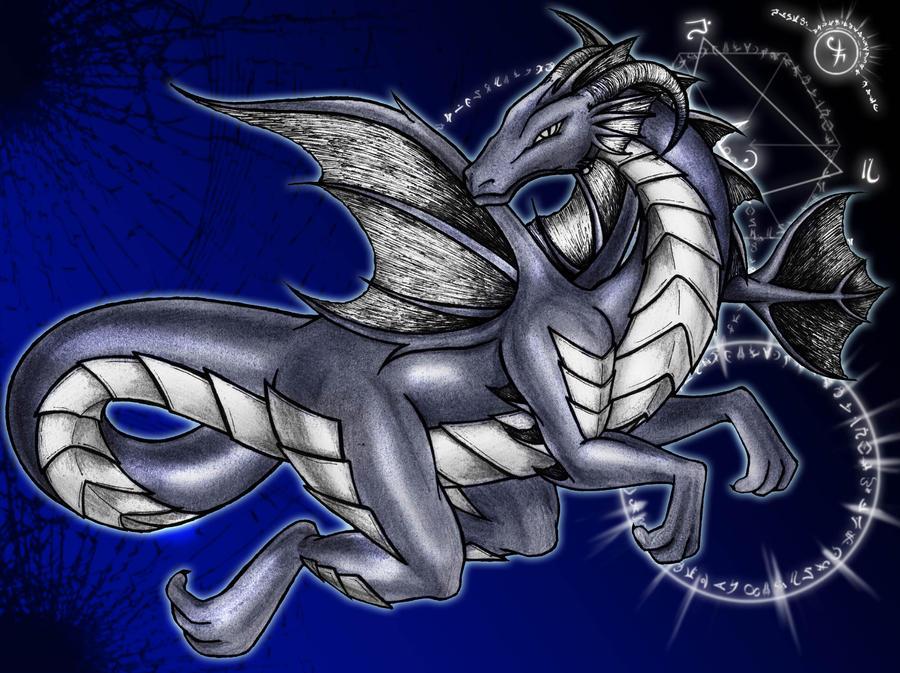 dark dragon by lianne29annika