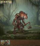 1 Heroes III Fan Art - Gnoll Marauder