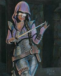 Mistress of a Darker Justice by sfolse
