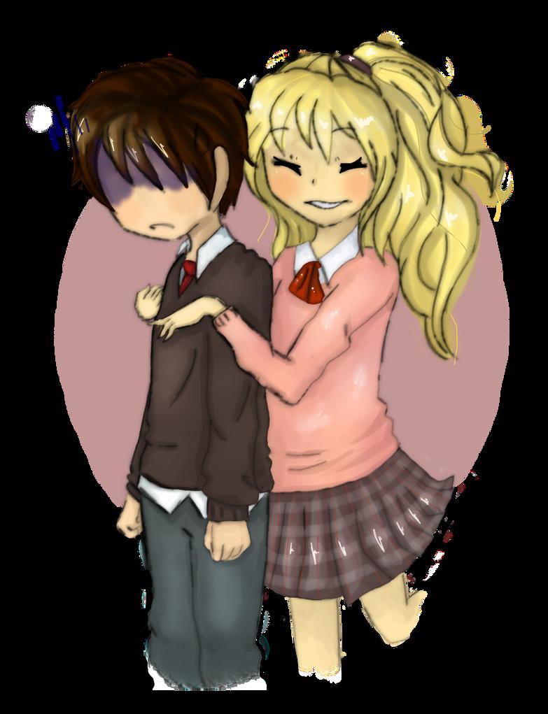 Diamonte and Michelle by AkiraHoshi-chan