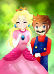 AT: Peach and Mario