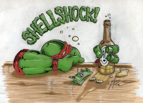 Shellshocked by MattDeakinFineArt