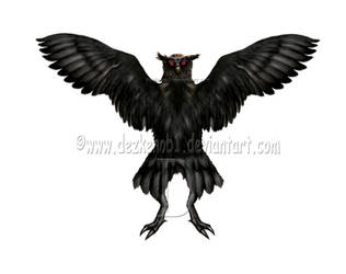 Owlman of Mawnan by MattDeakinFineArt