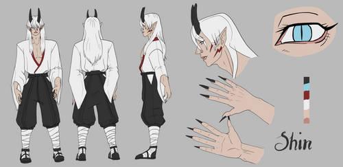 Older Shin True form reference