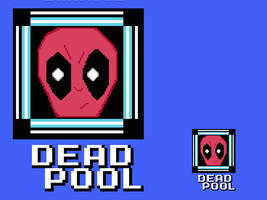 Deadpool as the next Mega Man Boss! by mewiepix