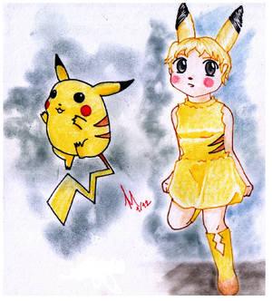 Pikachu Gijinka :3