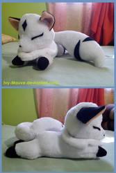 Kirara sleeping plush