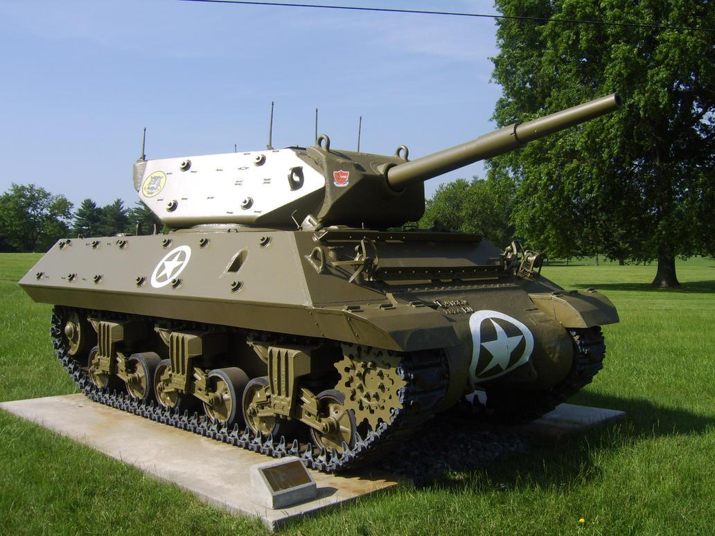 M10 Wolverine - ПТ-САУ США.