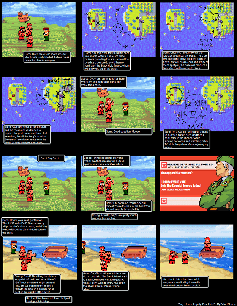 That Advance Wars Comic: 19 by HooHa-Man