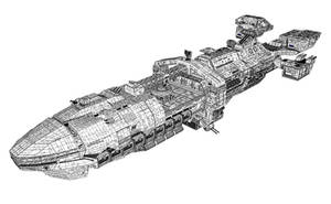 star ship Roger Young 6 by chtazi