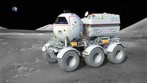 Star Cops Moon Rover