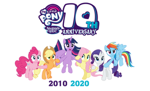 10 Years Of Friendship Is Magic