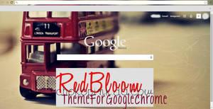 Red Bloom, Google Chrome Theme