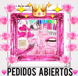 - PEDIDOS ABIERTOS -