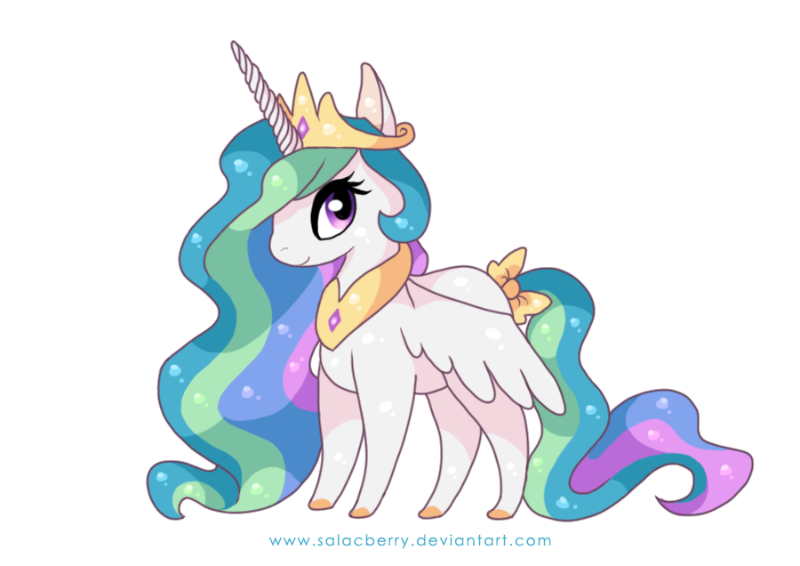 Princess Celestia by Salacberry