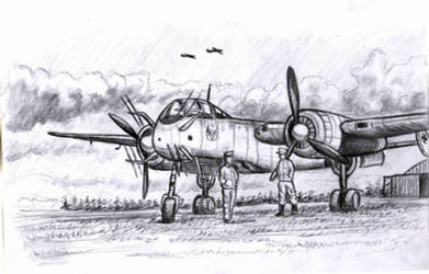 Heinkel 219 Nachtjager by grievous15