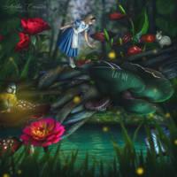 Alice in Wonderland by AwakenedComposites