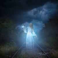 Waiting for the Train by AwakenedComposites