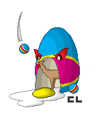 Llama in Easter Egg by Cyrus-Lee