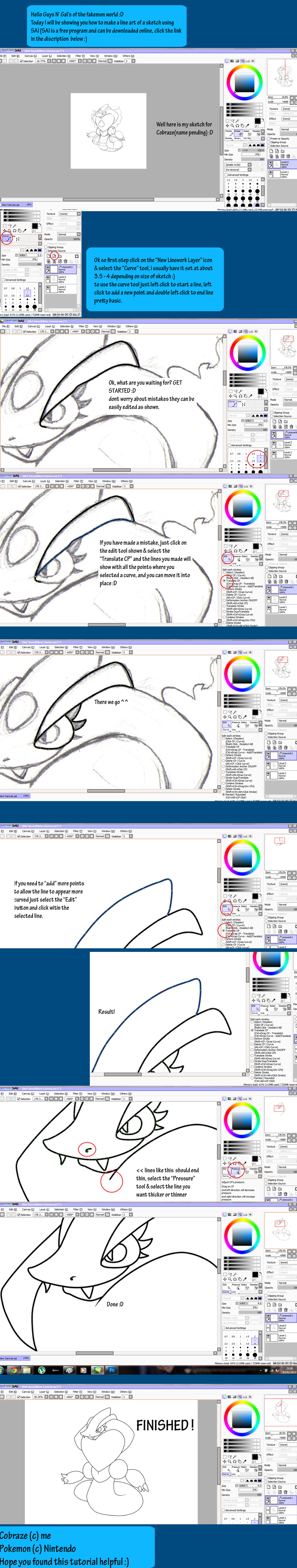 Line Art Tutorial by Pixel--Pete