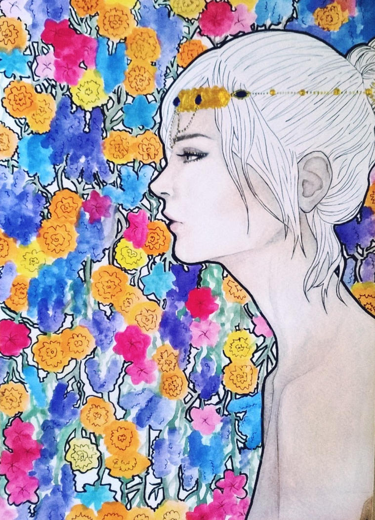 Flower Queen by LadyYurei