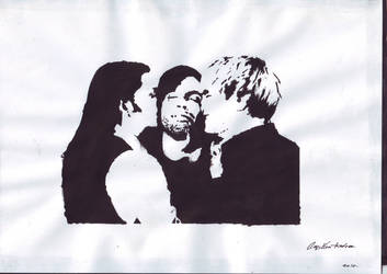 placebo - stencil by doloroas